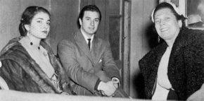 Maria Callas, Franco Corelli, Elena Nicolai