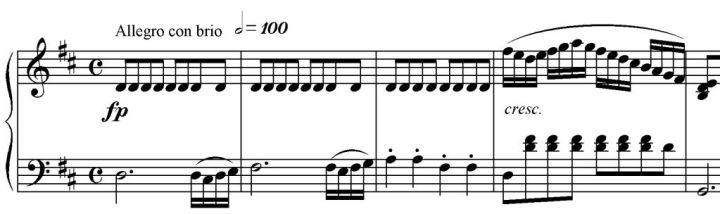 Sinfonia n. 2 esempio nr. 1