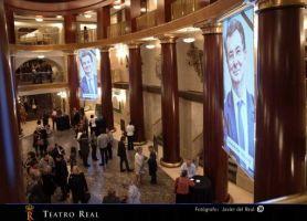 9 marzo 2014 - Foyer del Teatro Real di Madrid