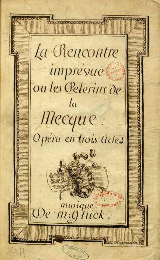 la rencontre imprevue libretto)