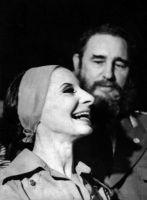 Alicia Alonso con Fidel Castro