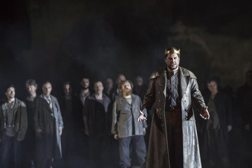 Nabucco_Luca Salsi (Nabucco)_Yasuko Kageyama, Opera di Roma Caracalla 2016_9567