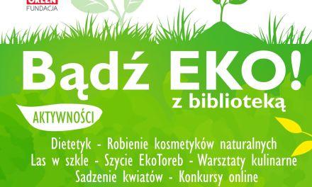 Bądź eko z biblioteką