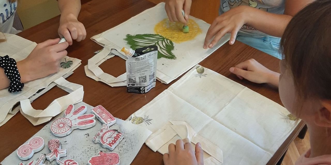 Malowanie eko- toreb