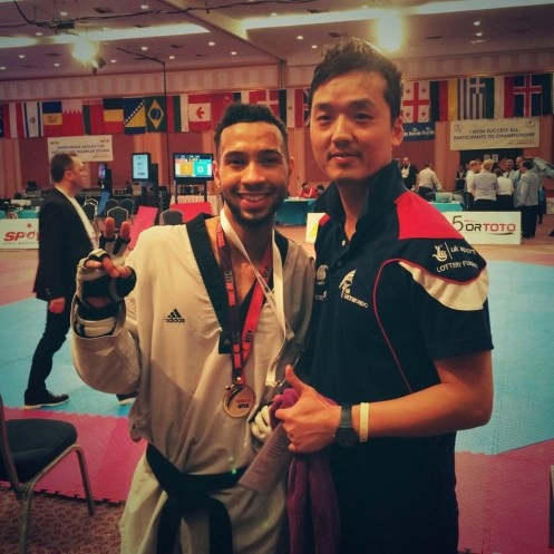 Jordan Gayle gold Turkish Open 2014