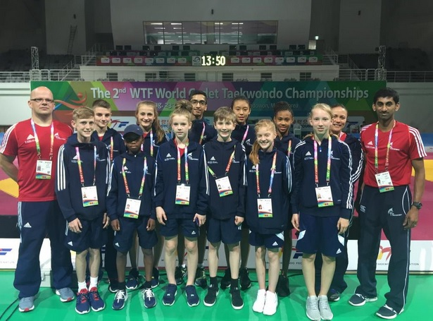 World Champs Cadets team