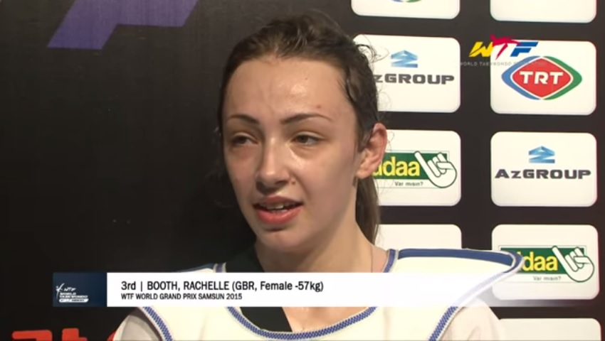 Rachelle Booth On Her Bronze At The Grand Prix Samsun