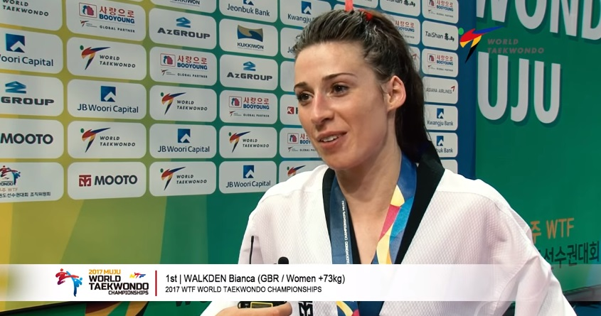 2017 WORLD CHAMPIONSHIPS: BIANCA WALKDEN'S INTERVIEW