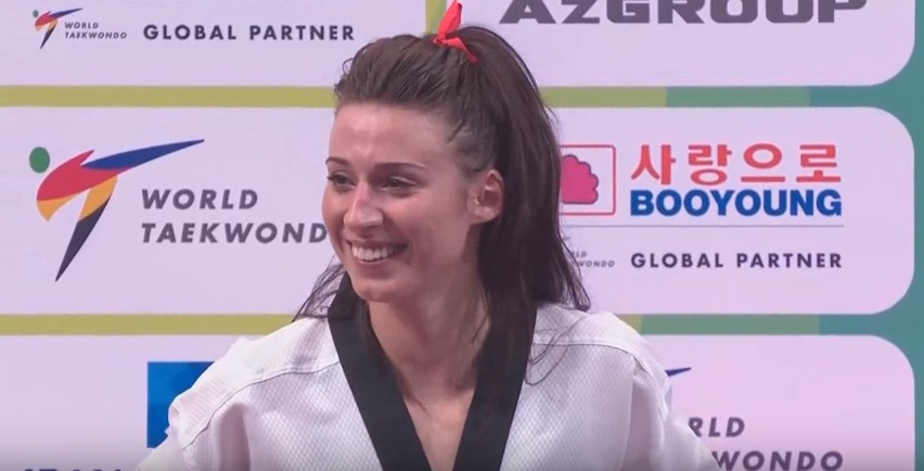 2017 WORLD CHAMPIONSHIPS: BIANCA WALKDEN AWARDING CEREMONY