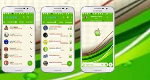 Tema GBWhatsapp – Green Apple