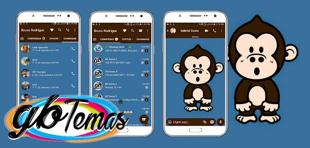 Tema GBWhatsapp – Monkey