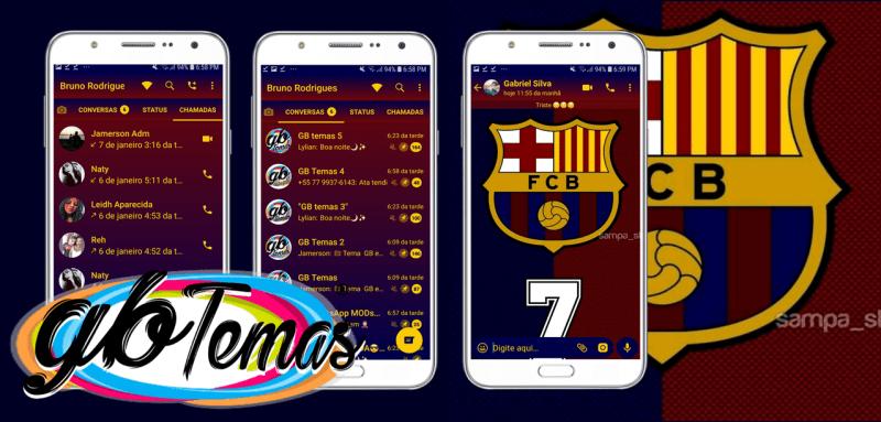 Tema GBWhatsapp - Barcelona FC