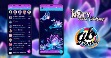 Tema Fouad Whatsapp - Butterfly Glow