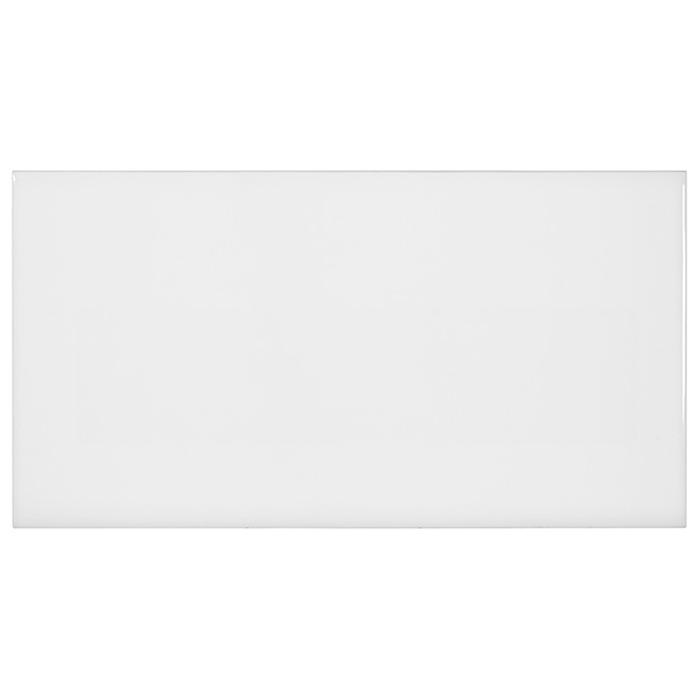 tesoro soho white glossy subway tile 3 x 6