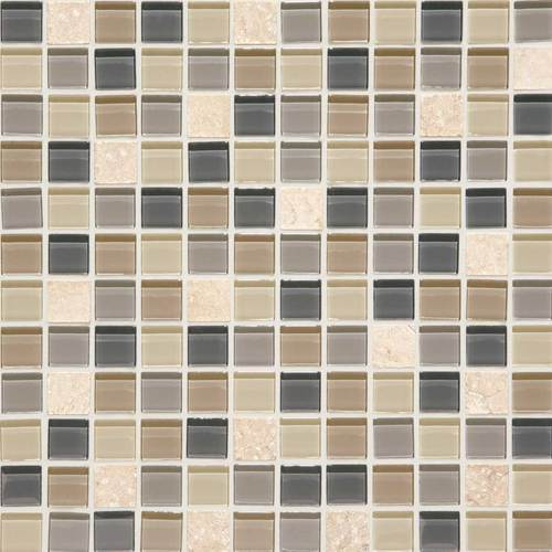 daltile mosaic traditions skyline 1 x 1 mosaic