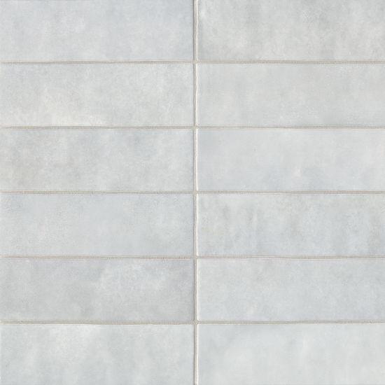 bedrosians cloe grey 2 5 x 8 gloss ceramic wall tile