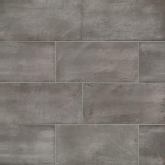 bedrosians chateau smoke 12 x 24 porcelain wall floor tile
