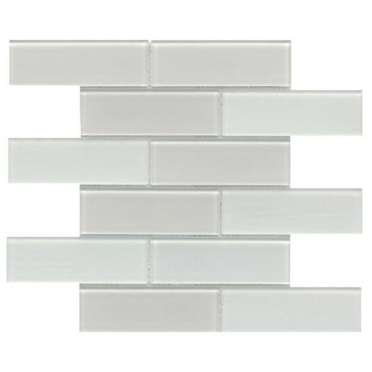 emser h20 ivory 12 x 12 glass mosaic