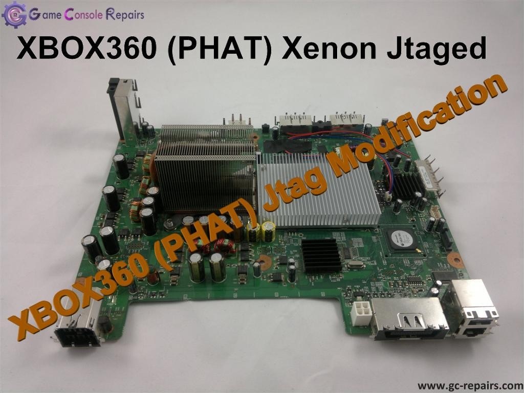 XBOX360 PHAT Jtag Modification Service Game Console