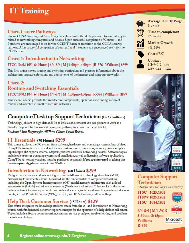 Desktop Support Flyer