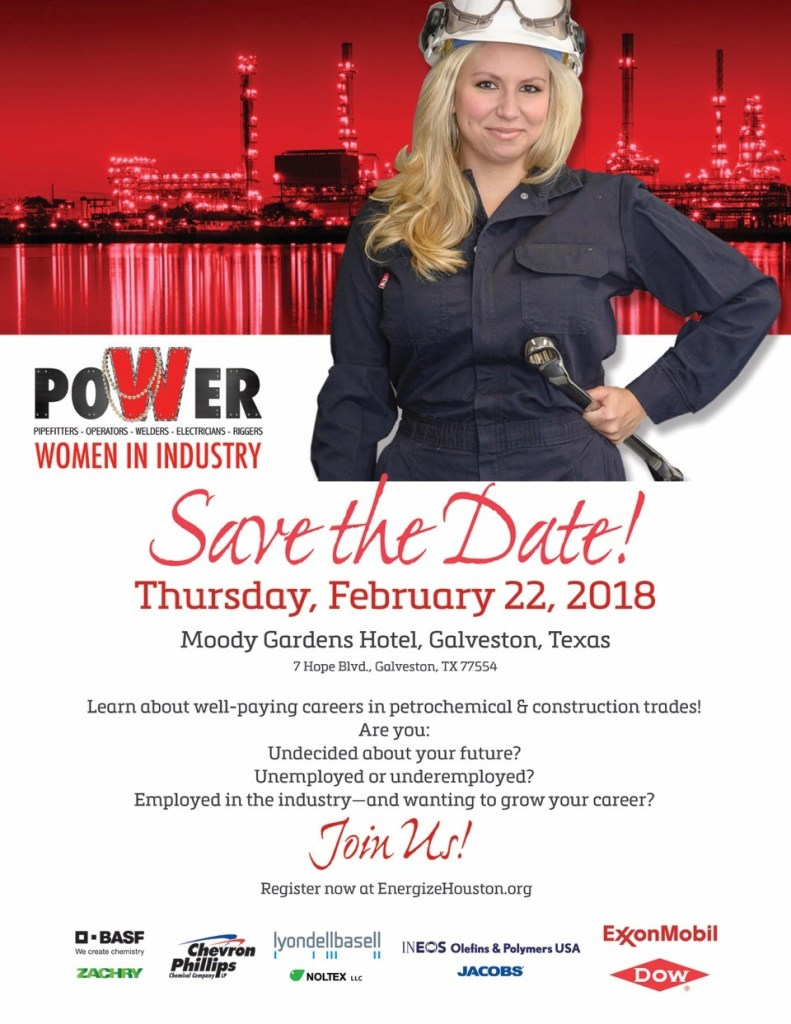 Women in Industry Conference Poster