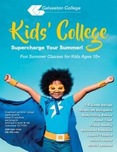 Registration underway for 2018 Kids' College