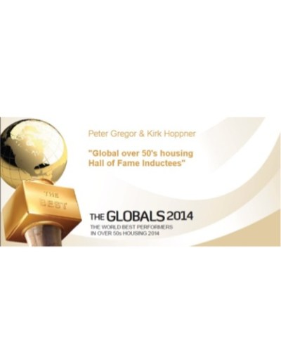 The Globals 2014 Peter Gregor & Kirk Hoppner