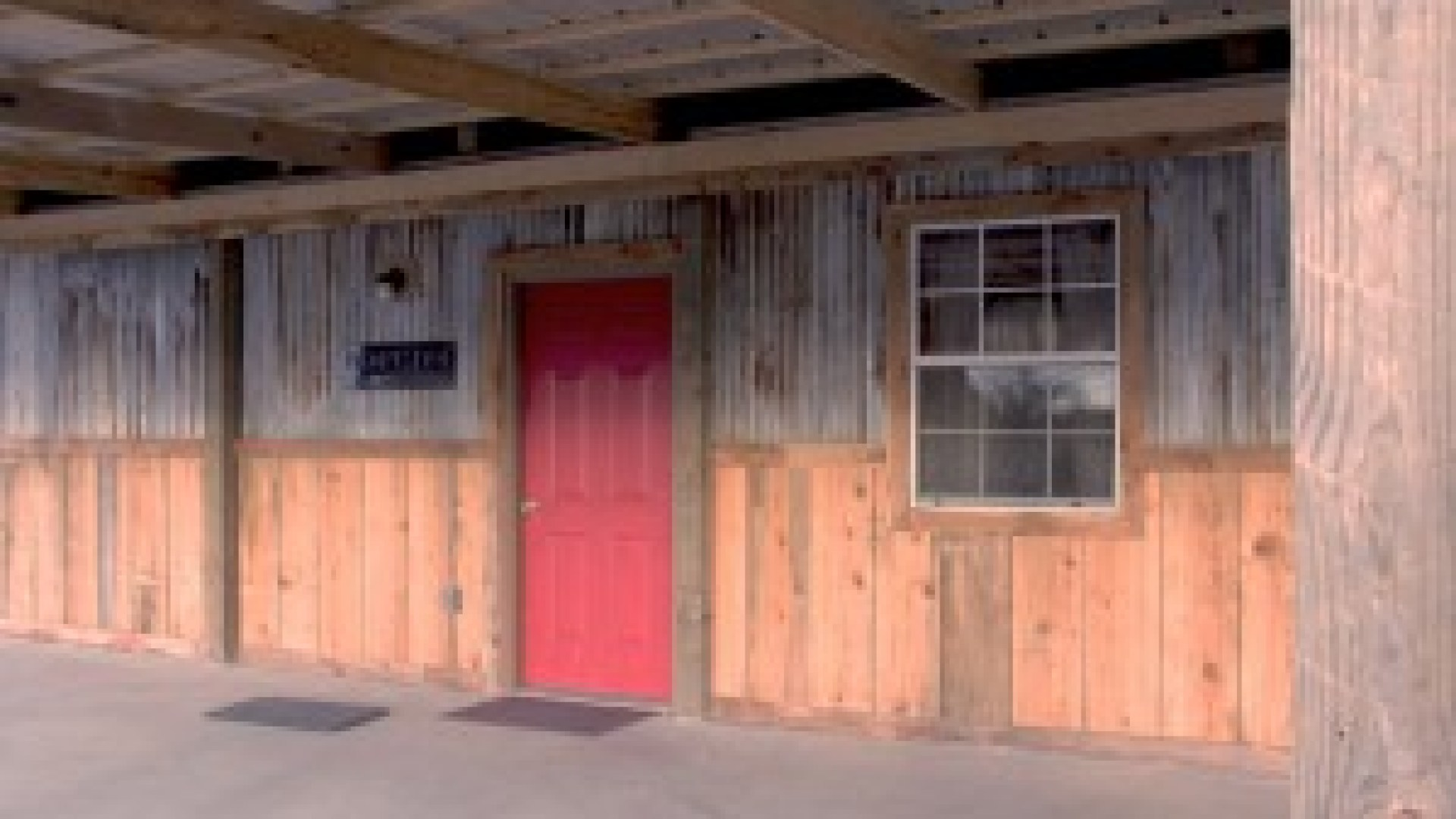 bunkhouse door