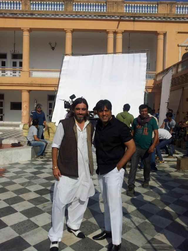 Daljit Sean Singh with Govinda