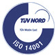 TUV NORD ISO 14001
