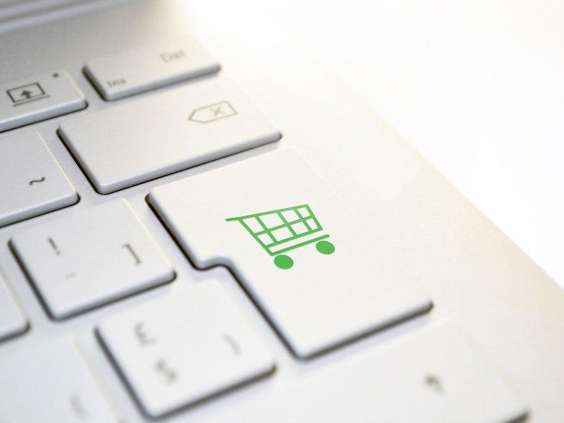 Shop key on keyboard