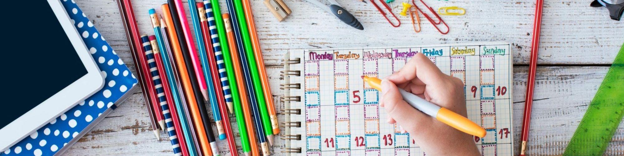 Greater Clark County Schools Calendar 2021-2022 Background