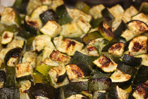 Roasted Vegetables Zucchini