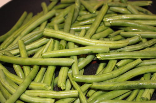 Green Beans Roasted Vegetables