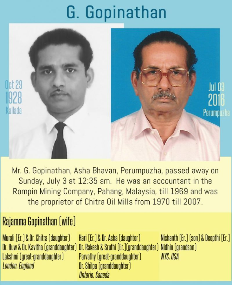 G Gopinathan
