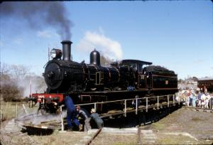 3001 Crookwell Turntable Last Train 1985