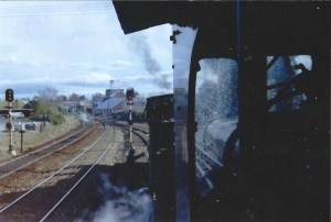 Last Passenger Train Approaching Crookwell Junction 1985