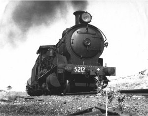 Loco 5212 on the Crookwell Branch