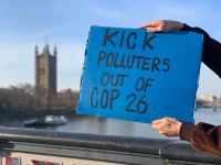 Glasgow Calls Out Polluters London Activist Photo (2)
