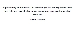 Measuring baseline level of excessive alcohol intake in ...