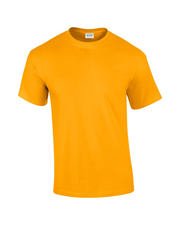 Mens T-shirt Gold