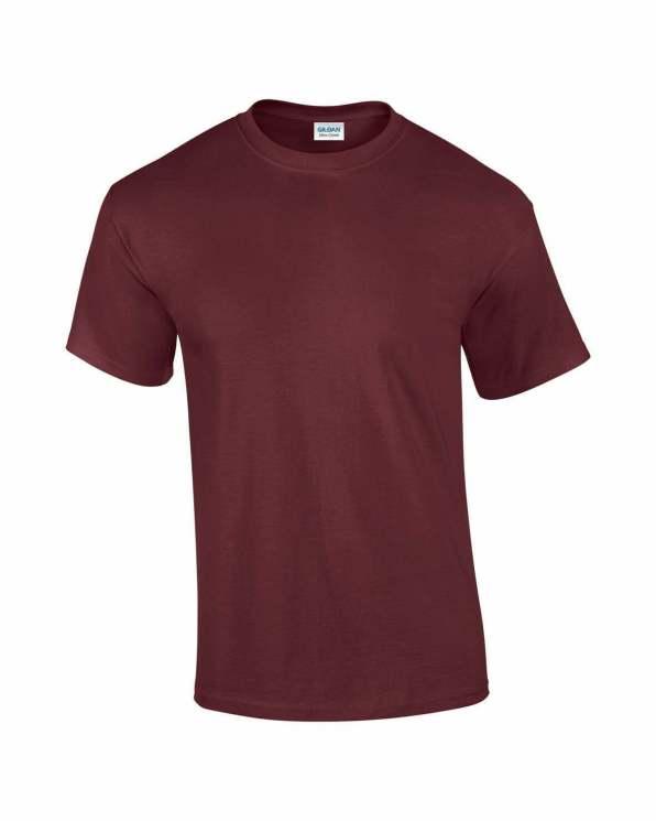 Mens T-shirt Maroon