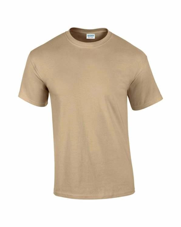 Mens T-Shirt Tan