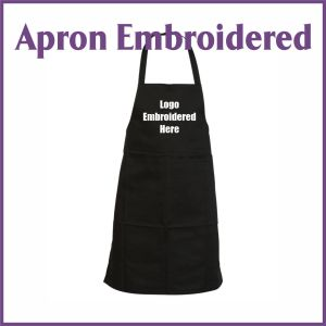 apron embroidered
