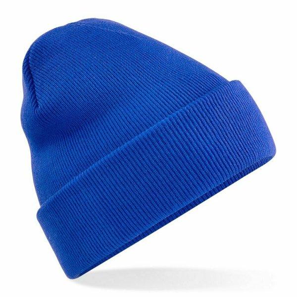 Beanie Hat bright royal blue