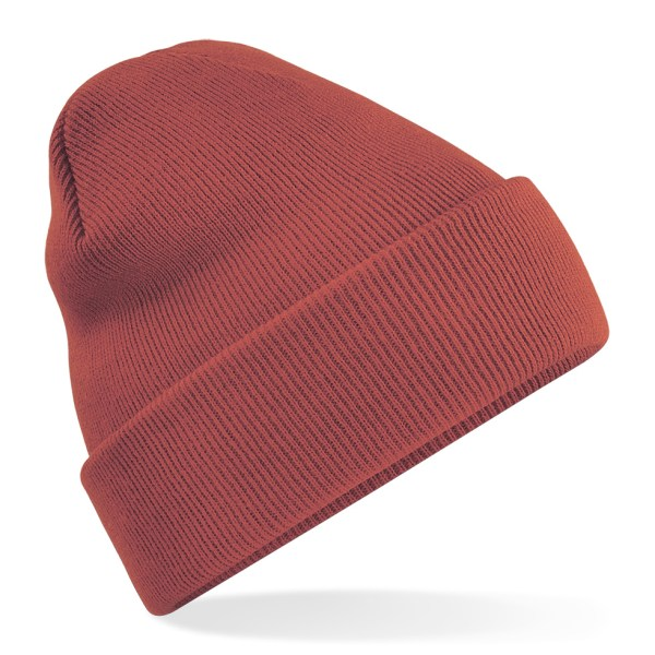 Beanie Hat Orange Rust