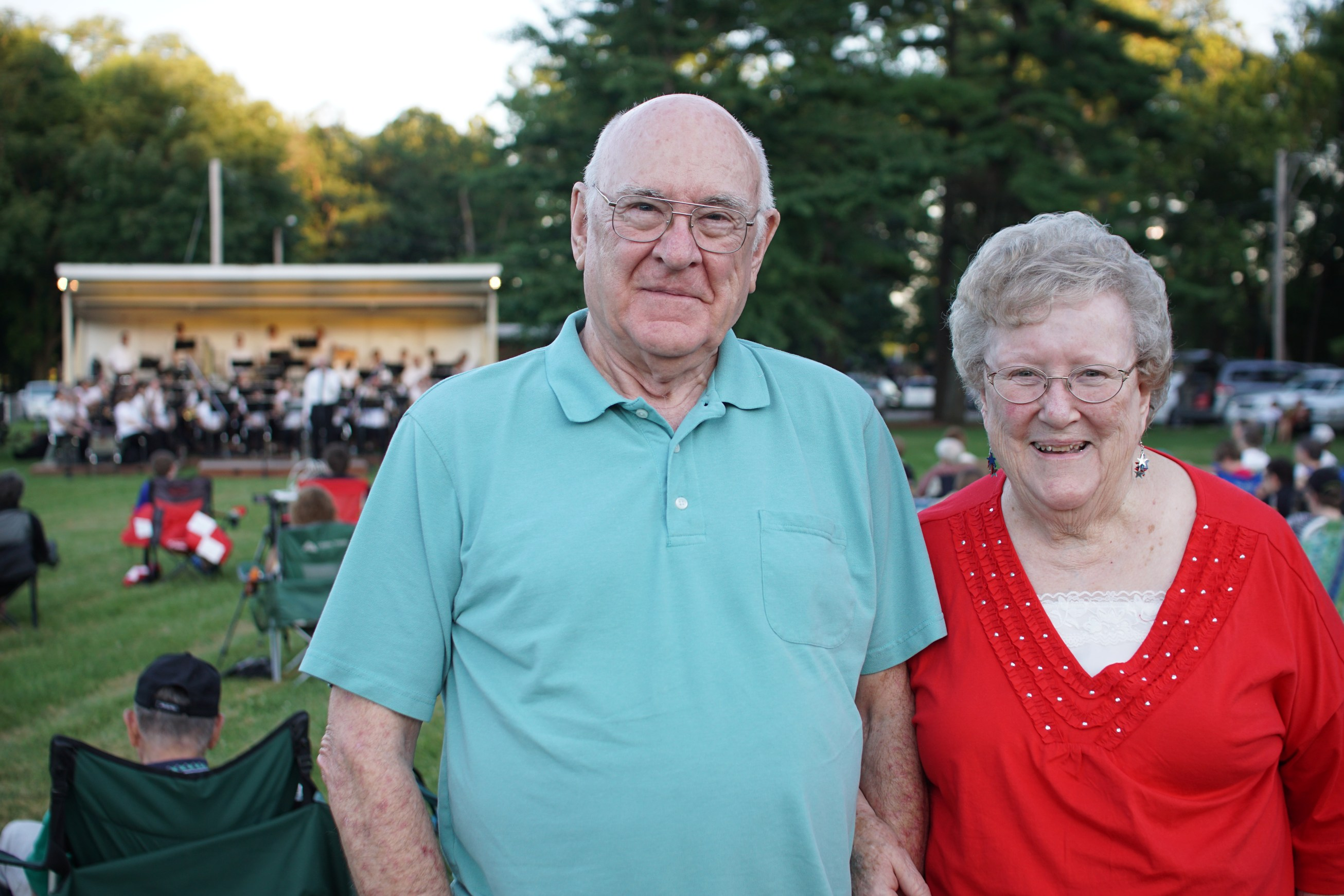 Family Turns Love of Music into Support for Band Shell Fund
