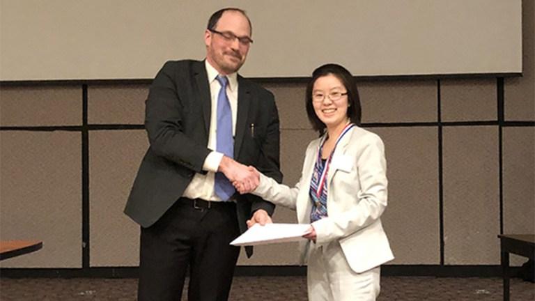 Third Place Intel Finalist Olivia Zhou Shaker HS