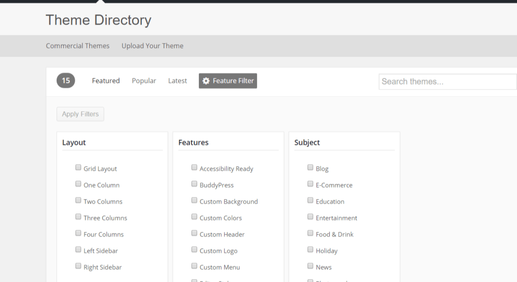 wordpress_theme_feature_filter