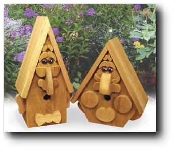 woodworking birdhouse